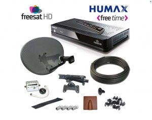 Freesat Humax complete installation kit